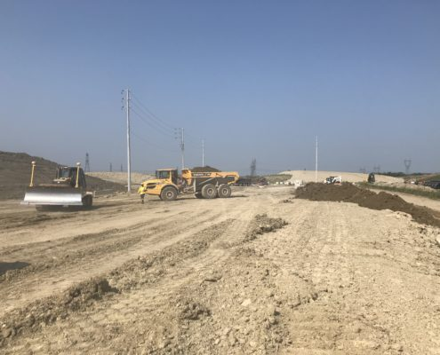 construction à Major Mackenzie Drive